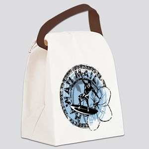 Surfer Hawii 2 Canvas Lunch Bag