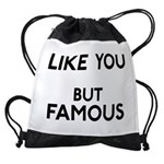 FIN-like-you-famous Drawstring Bag