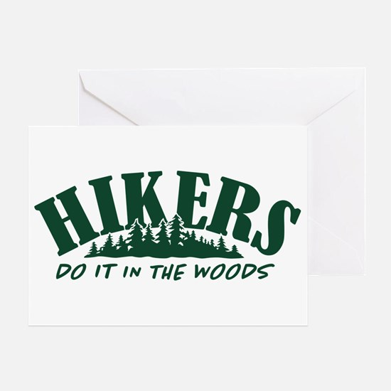 Hikers Do It Greeting Card