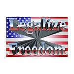 Legalize Freedom Mini Poster Print