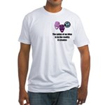 Value of an Idea Fitted T-Shirt
