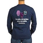 Value of an Idea Long Sleeve Dark T-Shirt