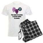 Value of an Idea Men's Light Pajamas