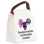 Value of an Idea Canvas Lunch Bag