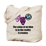 Value of an Idea Tote Bag
