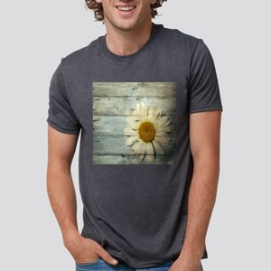 shabby chic country daisy Mens Tri-blend T-Shirt