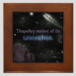 Temporary Resident Framed Tile