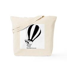 Kokopelli Hot Air Balloonist Tote Bag