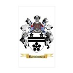Bartolomeazzi Sticker (Rectangle 50 pk)