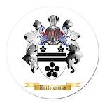 Bartolomaus Round Car Magnet