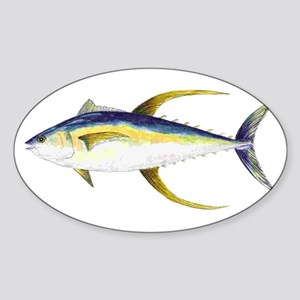 Yellowfin Tuna Sticker
