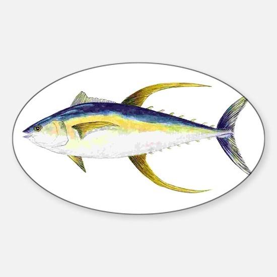 Yellowfin Tuna Decal