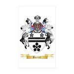 Bartoli Sticker (Rectangle 50 pk)