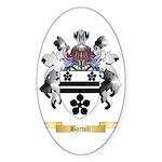 Bartoli Sticker (Oval)