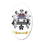 Bartoli 35x21 Oval Wall Decal