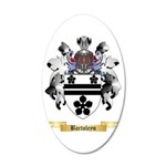Bartoleyn 35x21 Oval Wall Decal