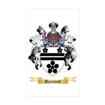 Bartoletti Sticker (Rectangle 50 pk)