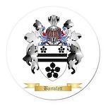 Bartolett Round Car Magnet