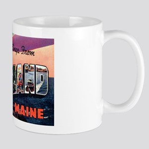 Portland Maine Greetings Mug