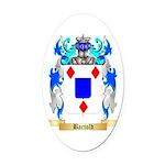 Bartold Oval Car Magnet