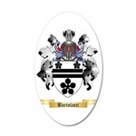 Bartolacci 35x21 Oval Wall Decal
