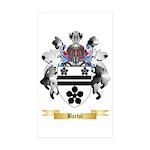 Bartol Sticker (Rectangle 50 pk)