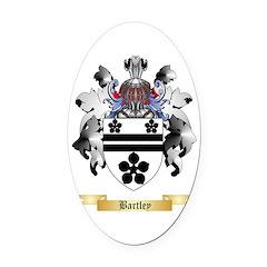 Bartley Oval Car Magnet