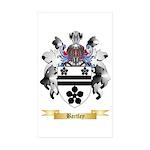 Bartley Sticker (Rectangle 50 pk)