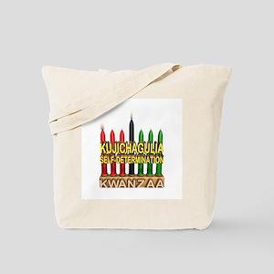 Kujichagulia (Self Determination) Kinara Tote Bag