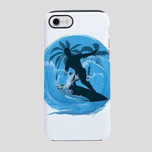 Cool Surfer dude design iPhone 7 Tough Case