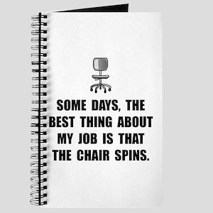 Job Chair Spins Journal