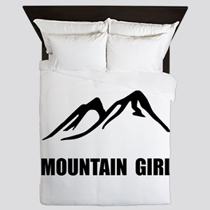 Mountain Girl Queen Duvet