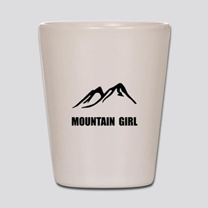 Mountain Girl Shot Glass