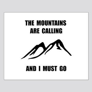 Mountains Must Go Posters