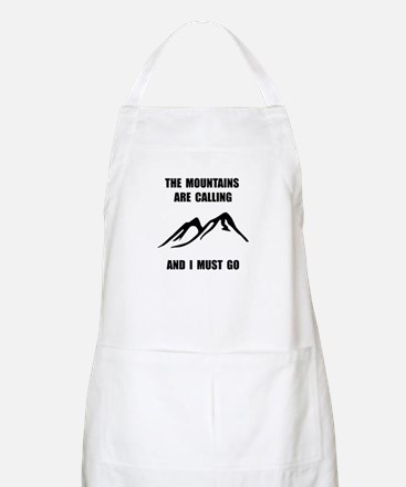 Mountains Must Go Apron