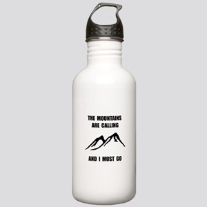 Mountains Must Go Water Bottle