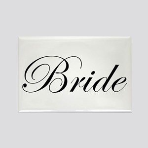 Bride's Rectangle Magnet