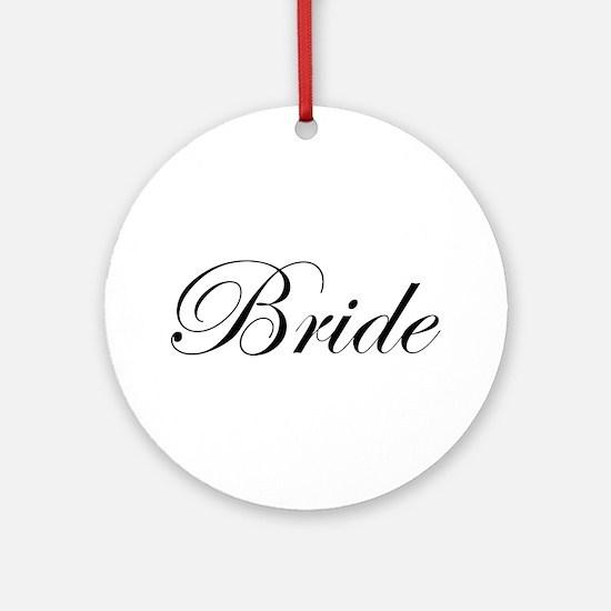 Bride's Ornament (Round)