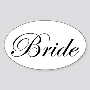 Bride's Sticker (Oval)
