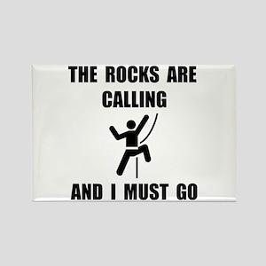 Rocks Calling Go Rectangle Magnet (10 pack)