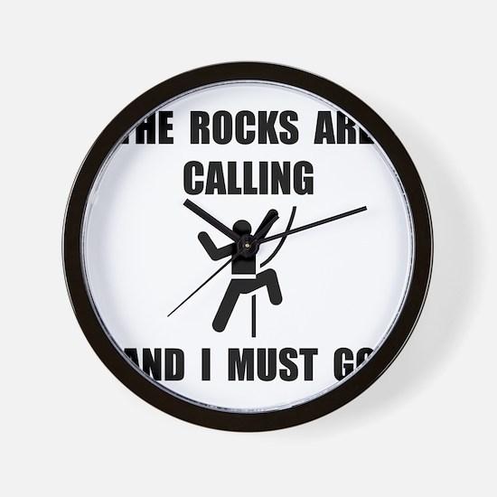 Rocks Calling Go Wall Clock
