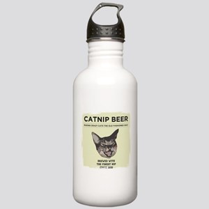 Crazy Catnip Beer light Water Bottle