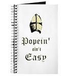 Popein aint Easy Journal