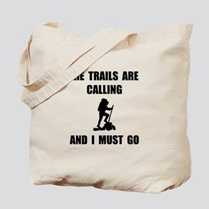 Trails Calling Go Tote Bag