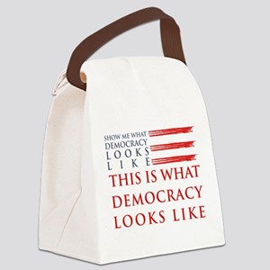 Democracy Canvas Lunch Bag