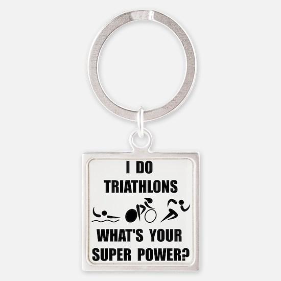 Triathlon Super Power: Keychains