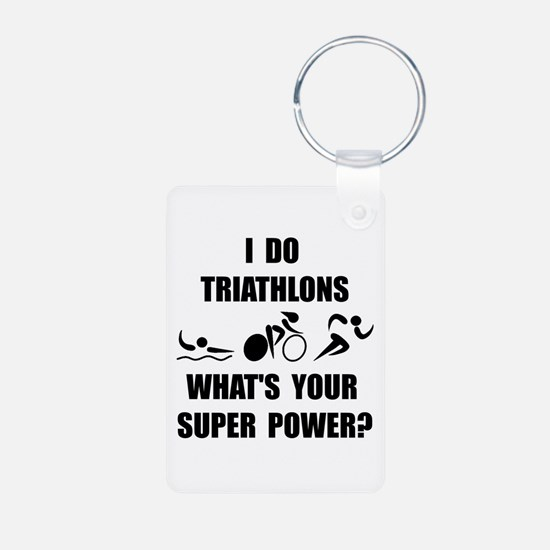 Triathlon Super Power: Keychains