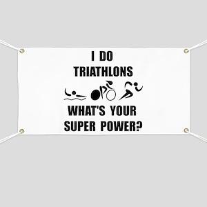 Triathlon Super Power: Banner