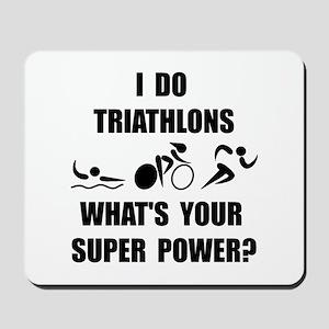 Triathlon Super Power: Mousepad