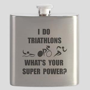 Triathlon Super Power: Flask